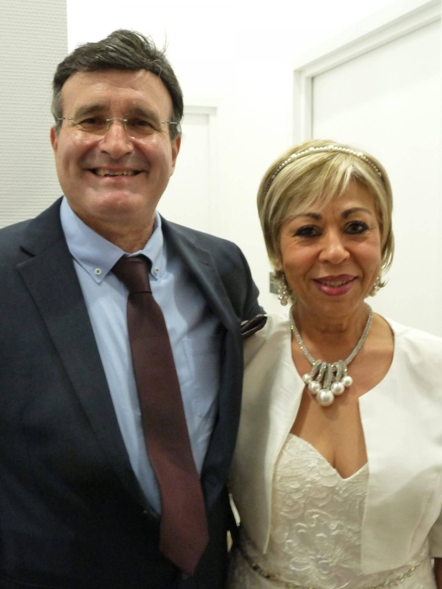 Michel Klipffel, retraité, et Nacira Boutchicha, auxiliaire de vie.