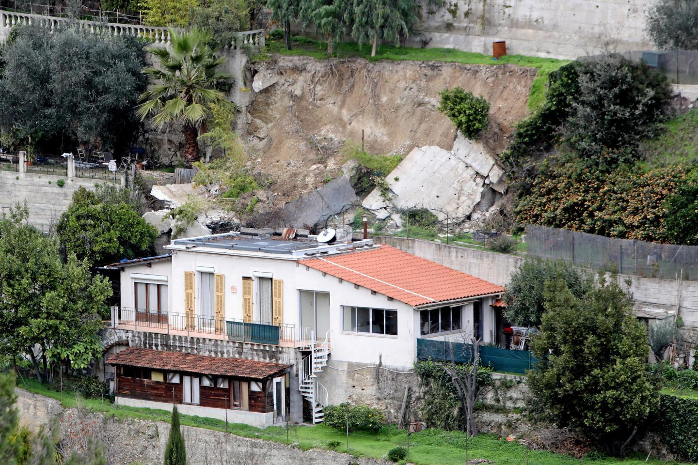 La maison d'Etienne Savouret, chemin des Collettes, vue d'en face.