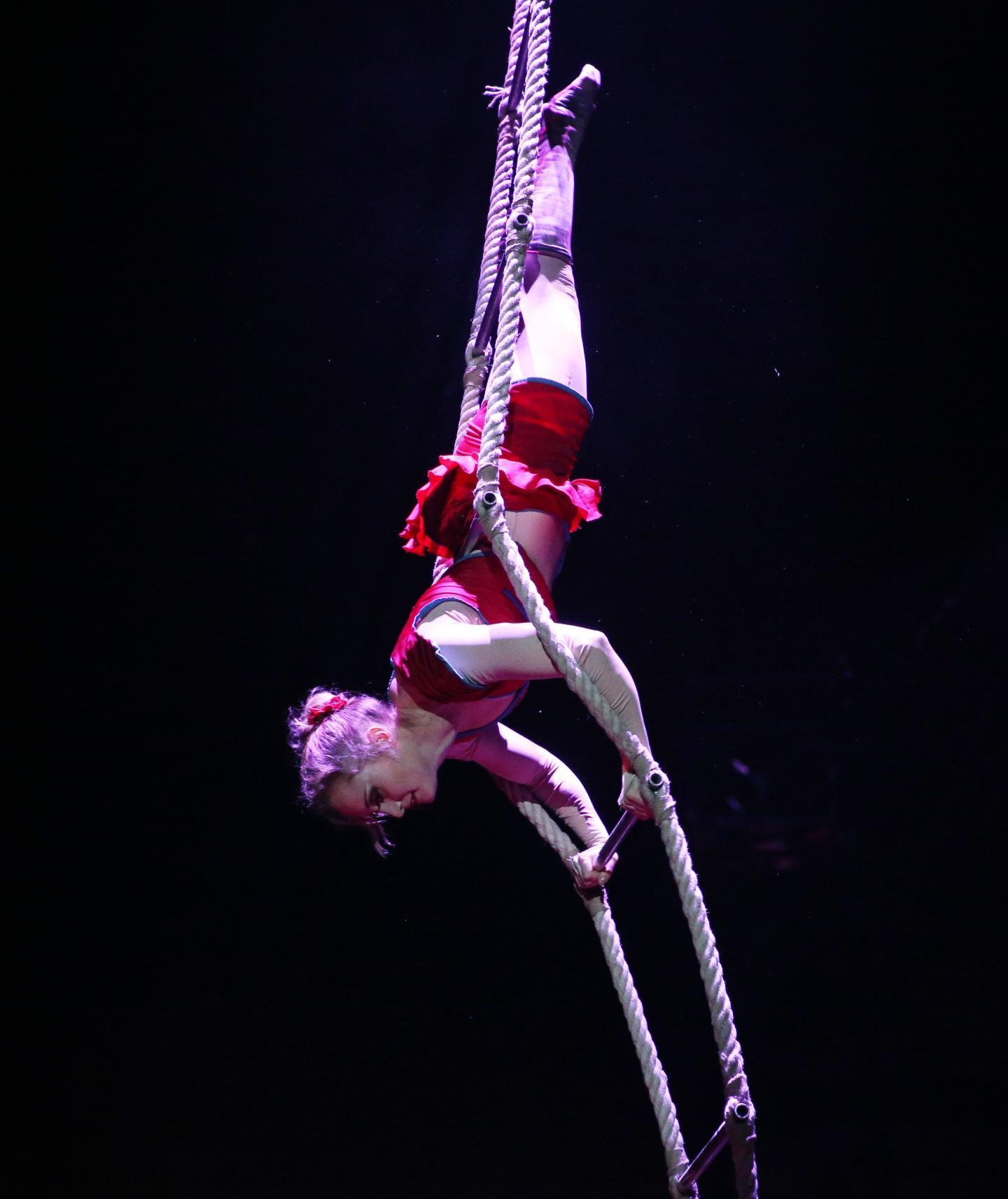 6e: Lisa Rinne, la trapéziste.
