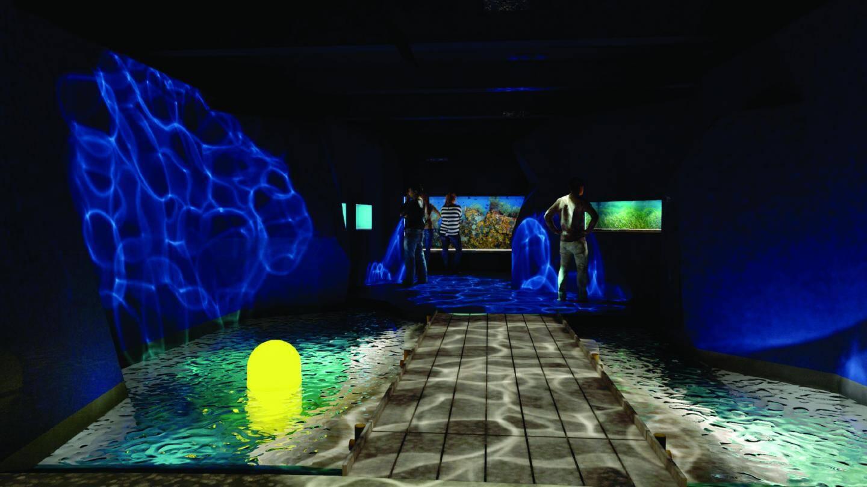 Le futur espace Mer et Littoral à Antibes.