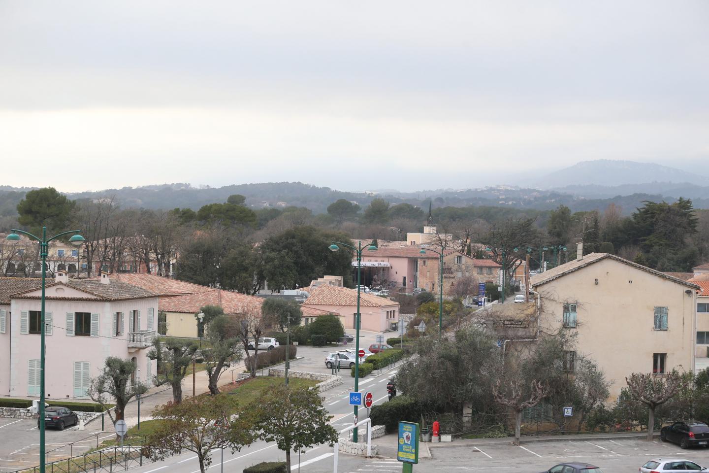 Une vue de Roquefort-les-Pins.