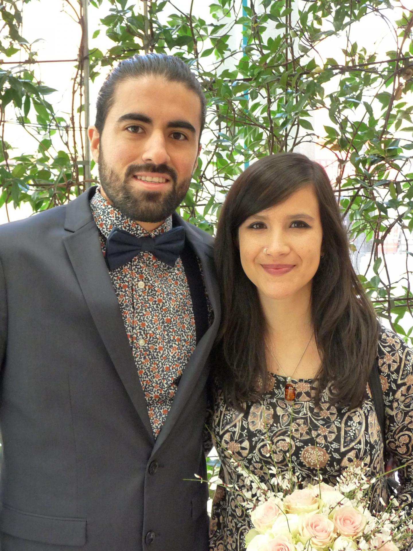 Juan Pablo et Camila.