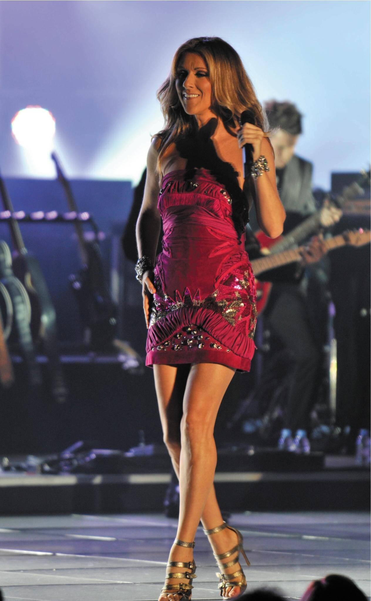 Elle devait être la star de l'été... dans un monde sans Covid. En 2008, Céline Dion chantait pour la première fois à Monaco.
