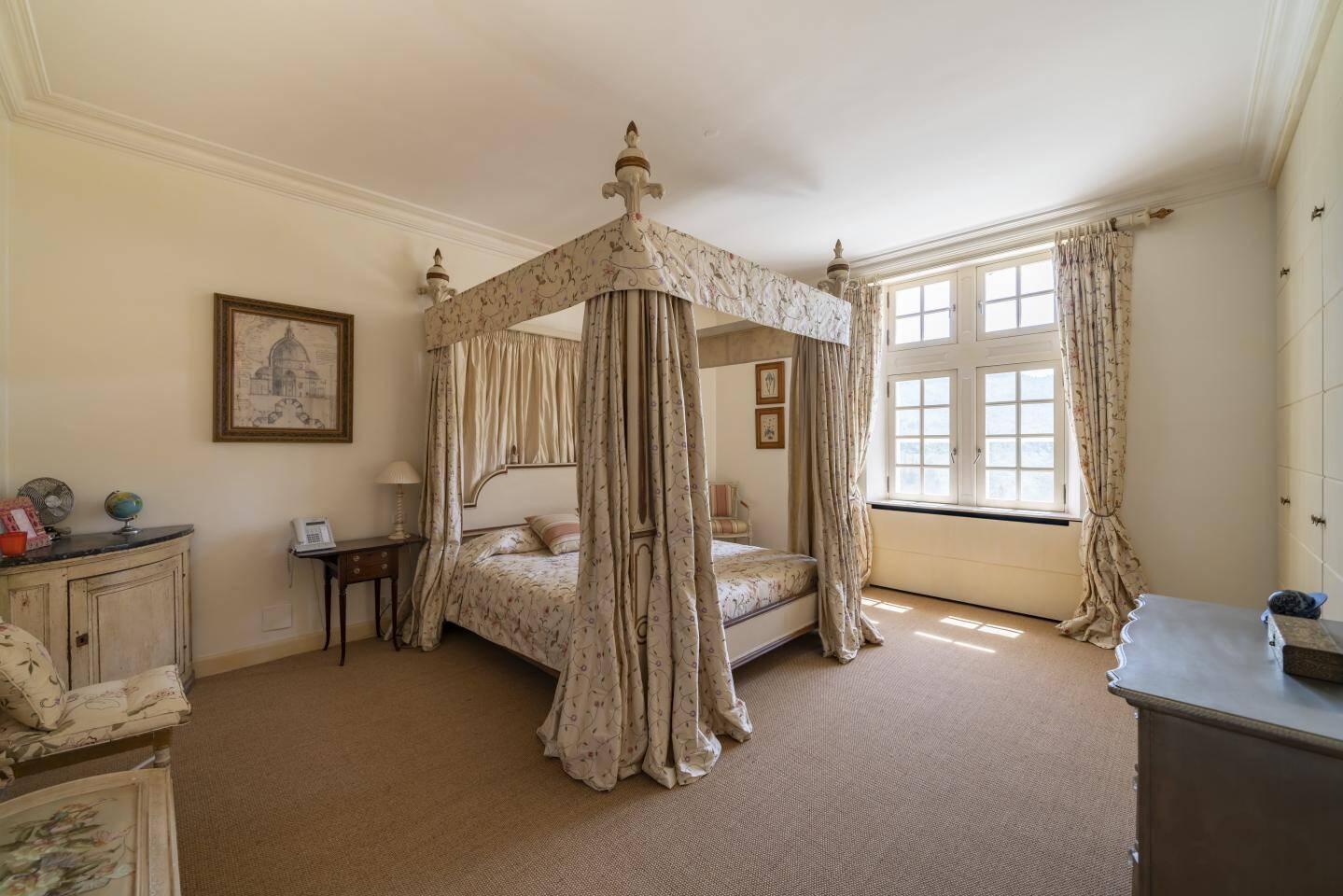 Une chambre du château des Valettes.