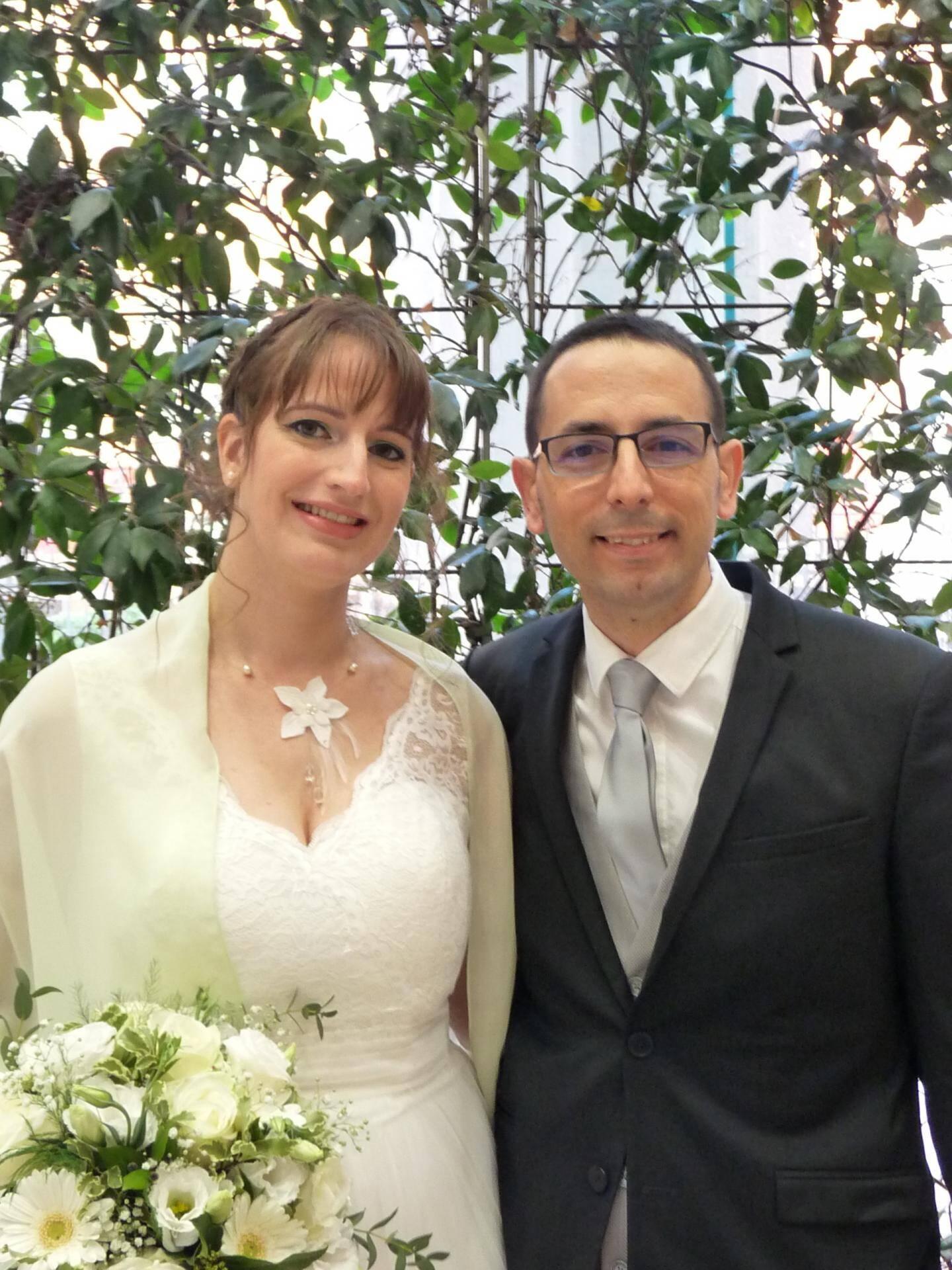 Nathalie Billet et Olivier Sevilla, employés à la Métropole.