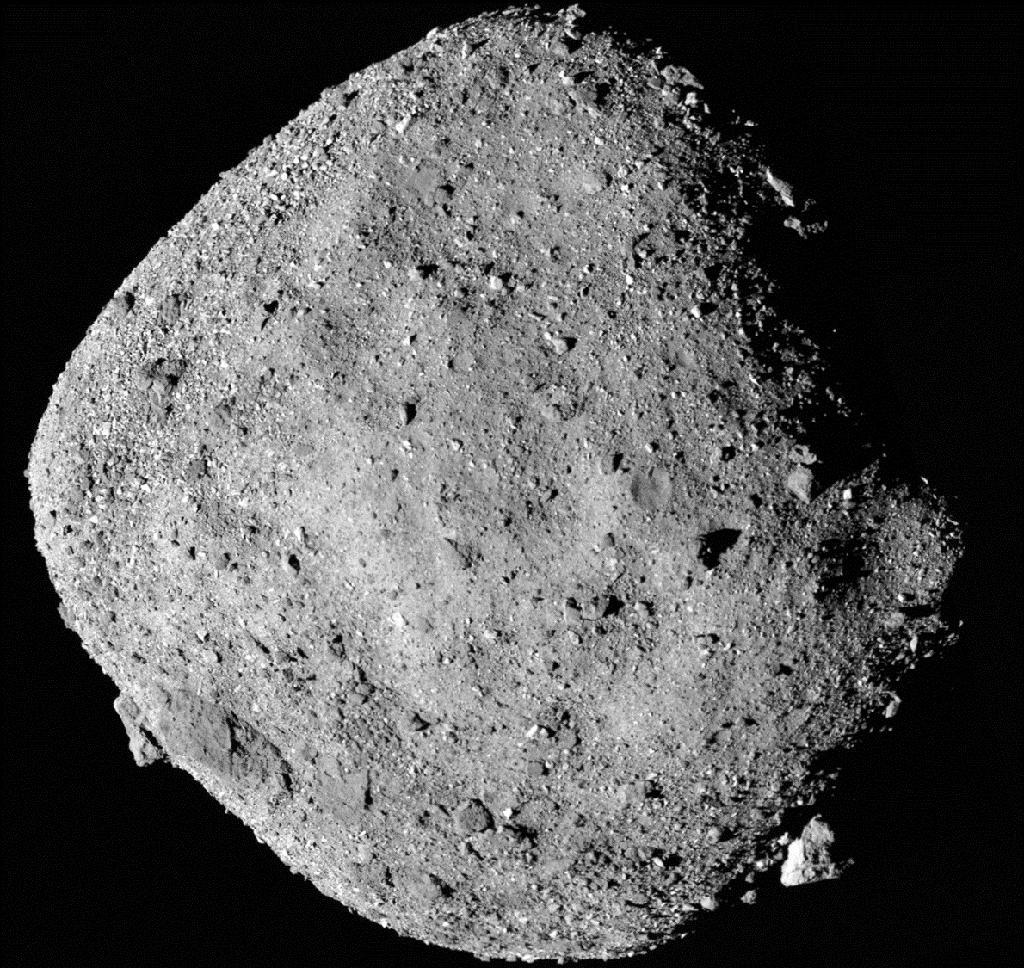 L'astéroïde Bennu, photographié le 2 décembre 2018 par la sonde Osiris-Rex de la Nasa
