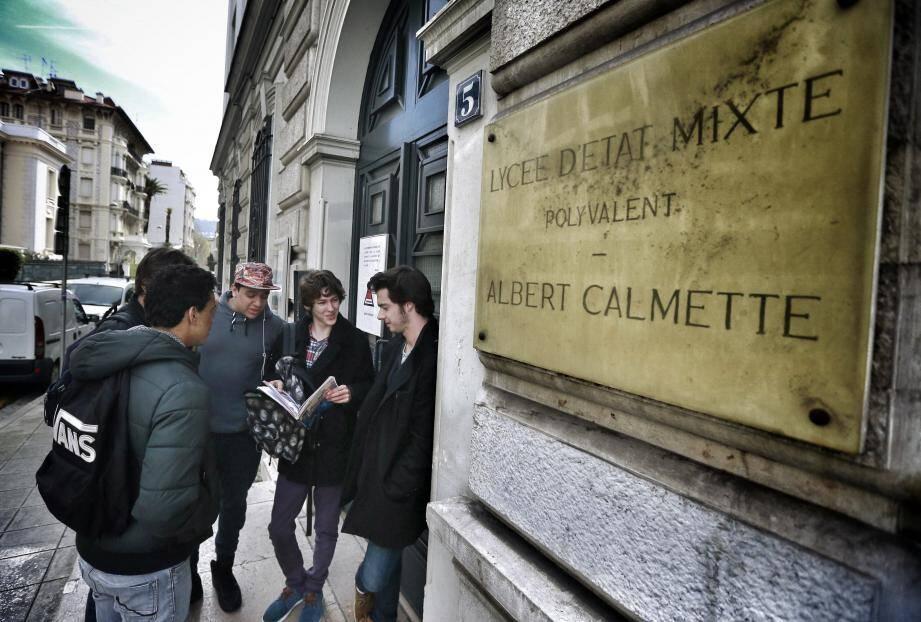 Le lycée Calmette à Nice fait partie des bons élèves à la réussite au bac et qui ne cesse d'améliorer ses performances d'année en année