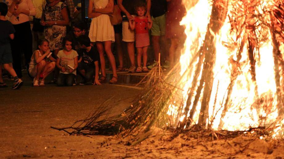 Entre 300 et 400 personnes ont assisté à la fête traditionnelle de la Saint Jean.