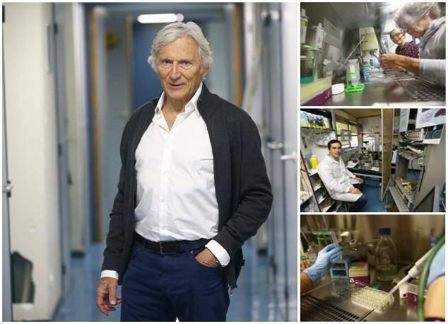 Michel Lazdunski, a créé l'Institut de Pharmacologie Moléculaire et cellulaire du CNRS à Sophia Antipolis.