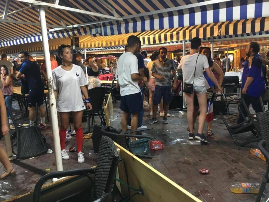 Mouvement de foule Vieux Nice