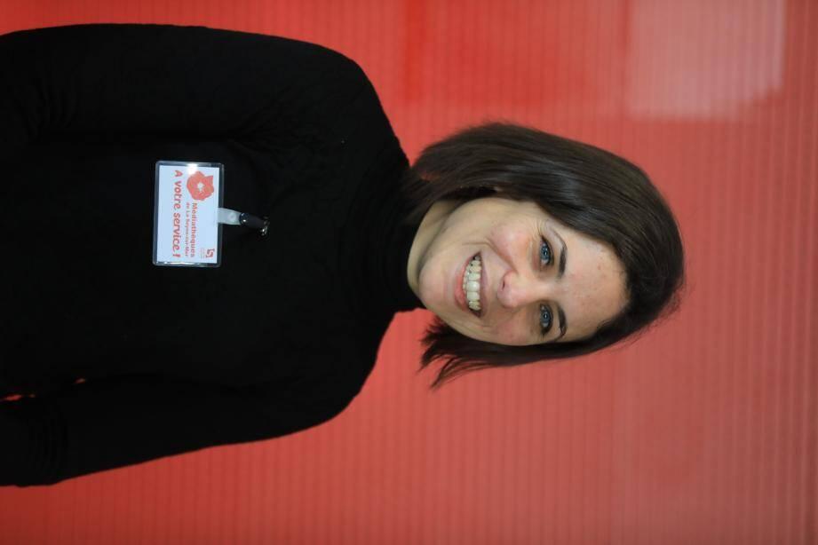 Claire Loffreda, responsable de la MAC.