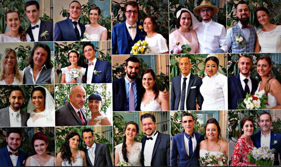 Dix sept couples se sont unis en mairie de Nice, ce week-end