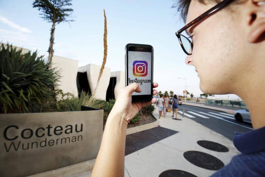 Le musée Cocteau, l'un des lieux les plus instagrammé