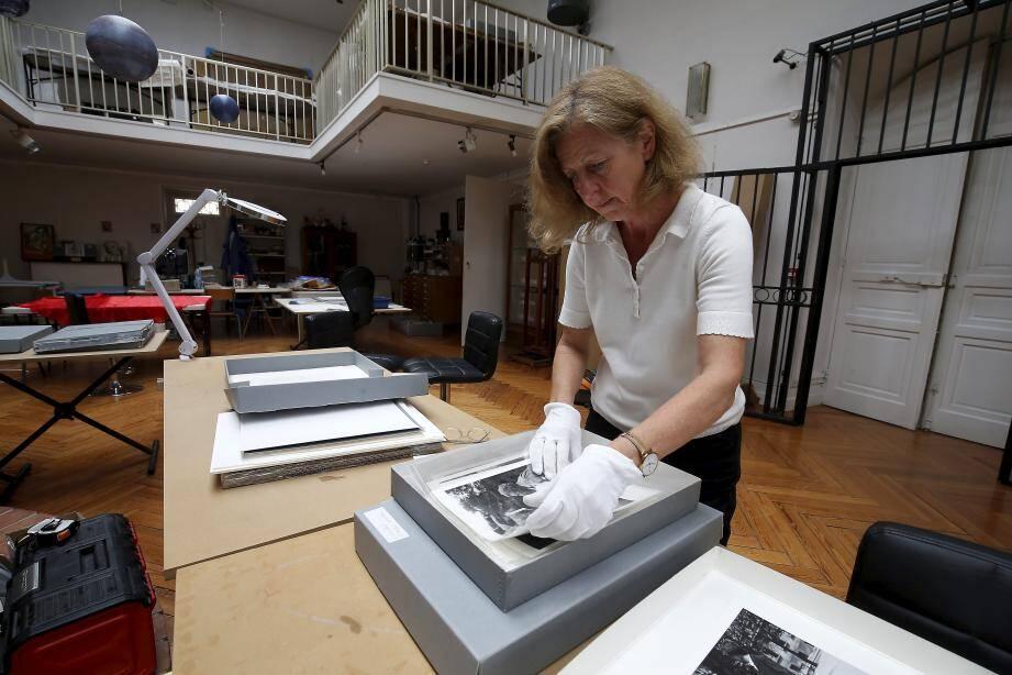 Les photos de la collection ont fait partie des premières œuvres à être restaurées.