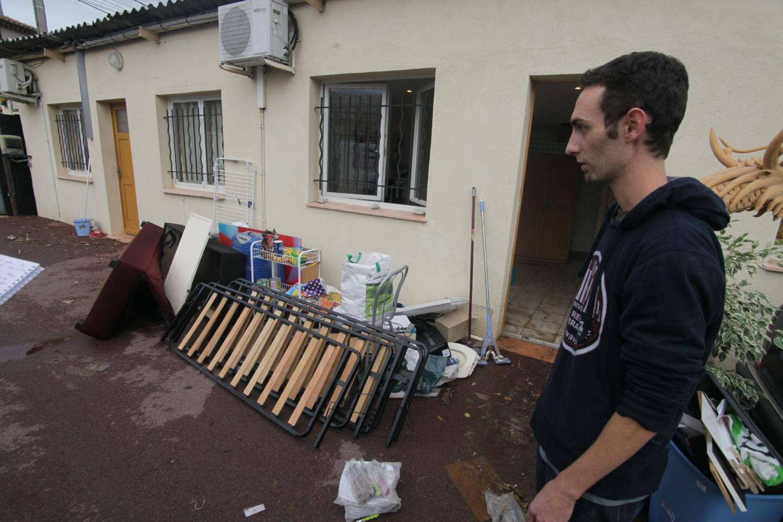 Les dégâts matériels sont considérables. Cependant et heureusement, aucune victime n'est à déplorer. (Photos Vincent Rossotti)