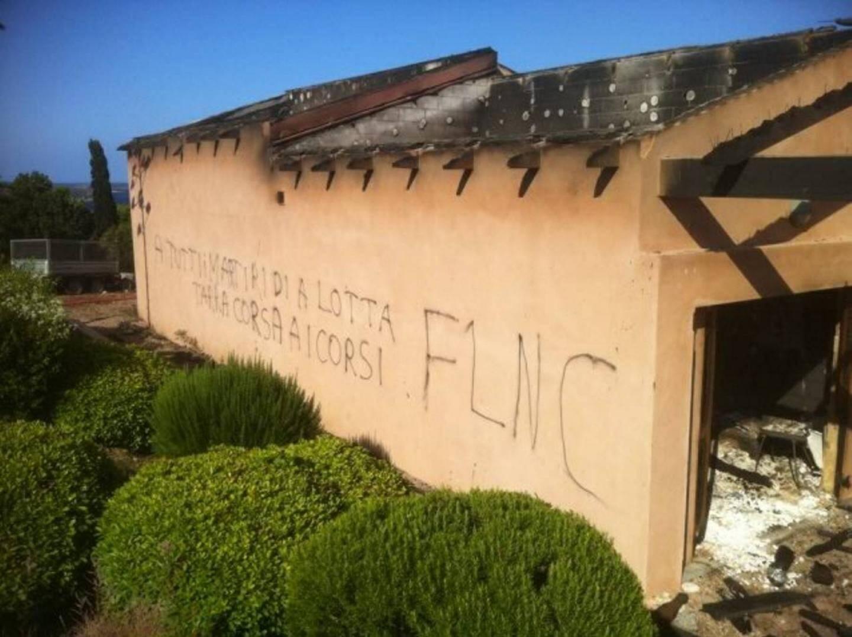 Un complexe immobilier a été visé par plusieurs attentats à Balistra, sur la commune de Bonifacio