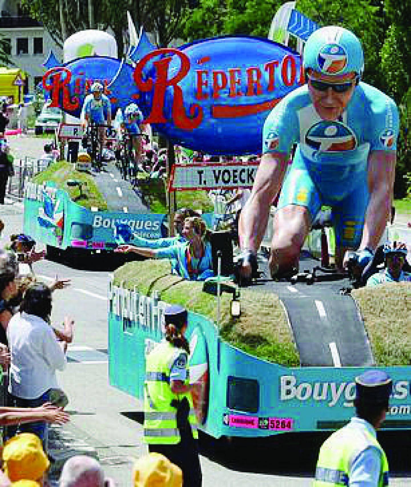 Le peloton avait traversé Cagnes-sur-Mer en 2009, il y reviendra l'été prochain, puisque le Tour y prendra le départ de la 5e étape, mercredi 3 juillet.