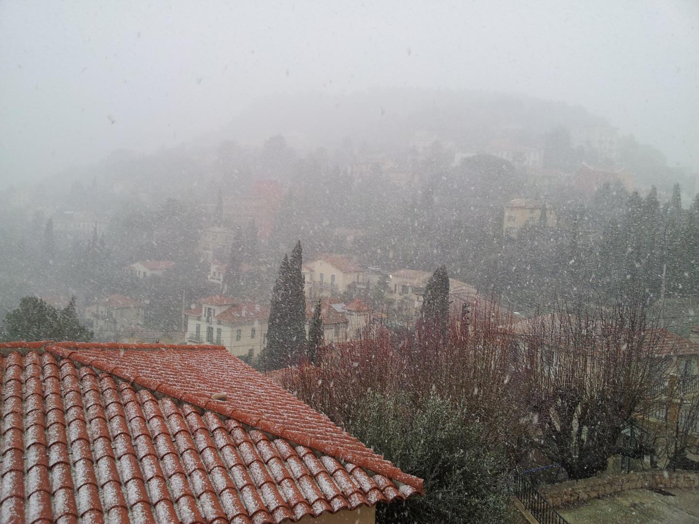 A Grasse, ce vendredi 8 février.