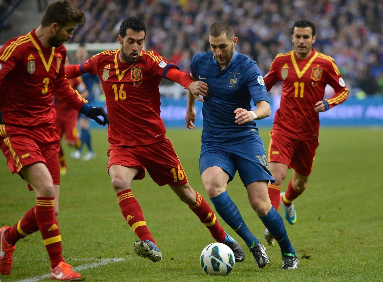 Benzema a dépassé la barre des 1000 minutes sans marquer chez les Bleus...