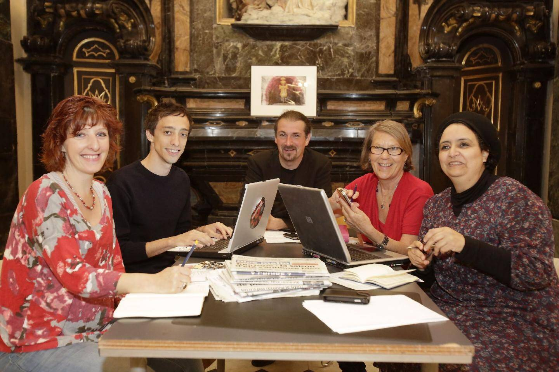 L'équipe des blogueurs, Élisabeth Touraille, Souad El Batlaoui, Roberte Dallo, Frédéric Rey et Nicolas Vaquier, vous donne rendez-vous mardi.