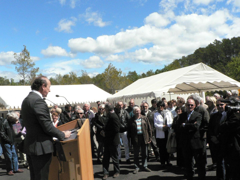 «Le projet s'inscrit très bien dans ce site naturel », a signalé le maire Claude Alemagna.
