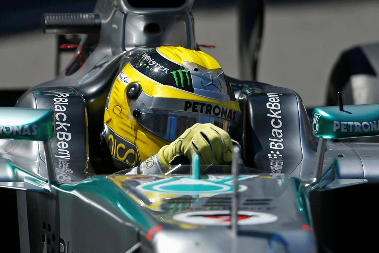 Nico Rosberg lors du Grand Prix de Monaco.