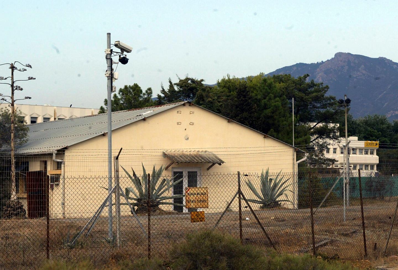 Le bâtiment du GIR à Ajaccio.