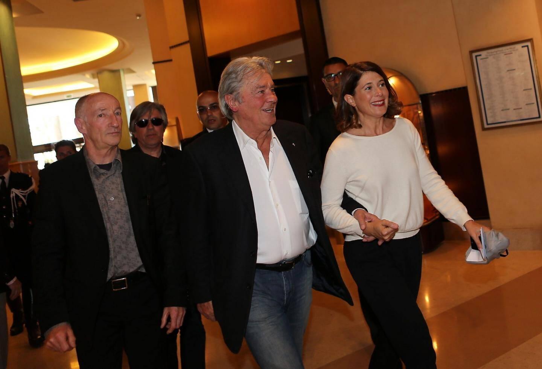 """Alain Delon, le monstre sacré du cinéma, est à Cannes ce samedi 25 mai pour la présentation du film """"Plein Soleil"""" en version restaurée"""