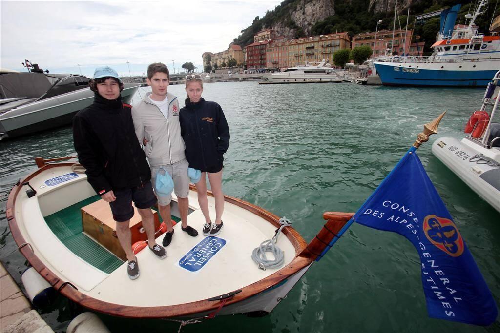 Lou Passagin a repris du service ce vendredi au port de Nice.