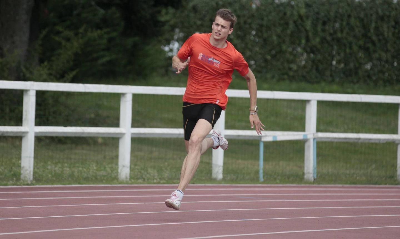 Christophe Lemaitre vise la médaille aux Mondiaux de Moscou.