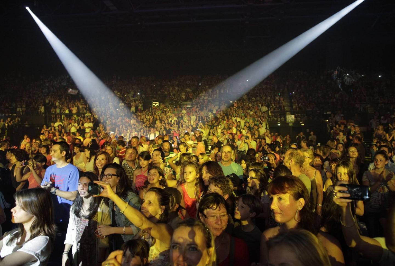 Un Nikaïa en version réduite a quand même fait le plein pour accueillir les jeunes stars de The Voice.