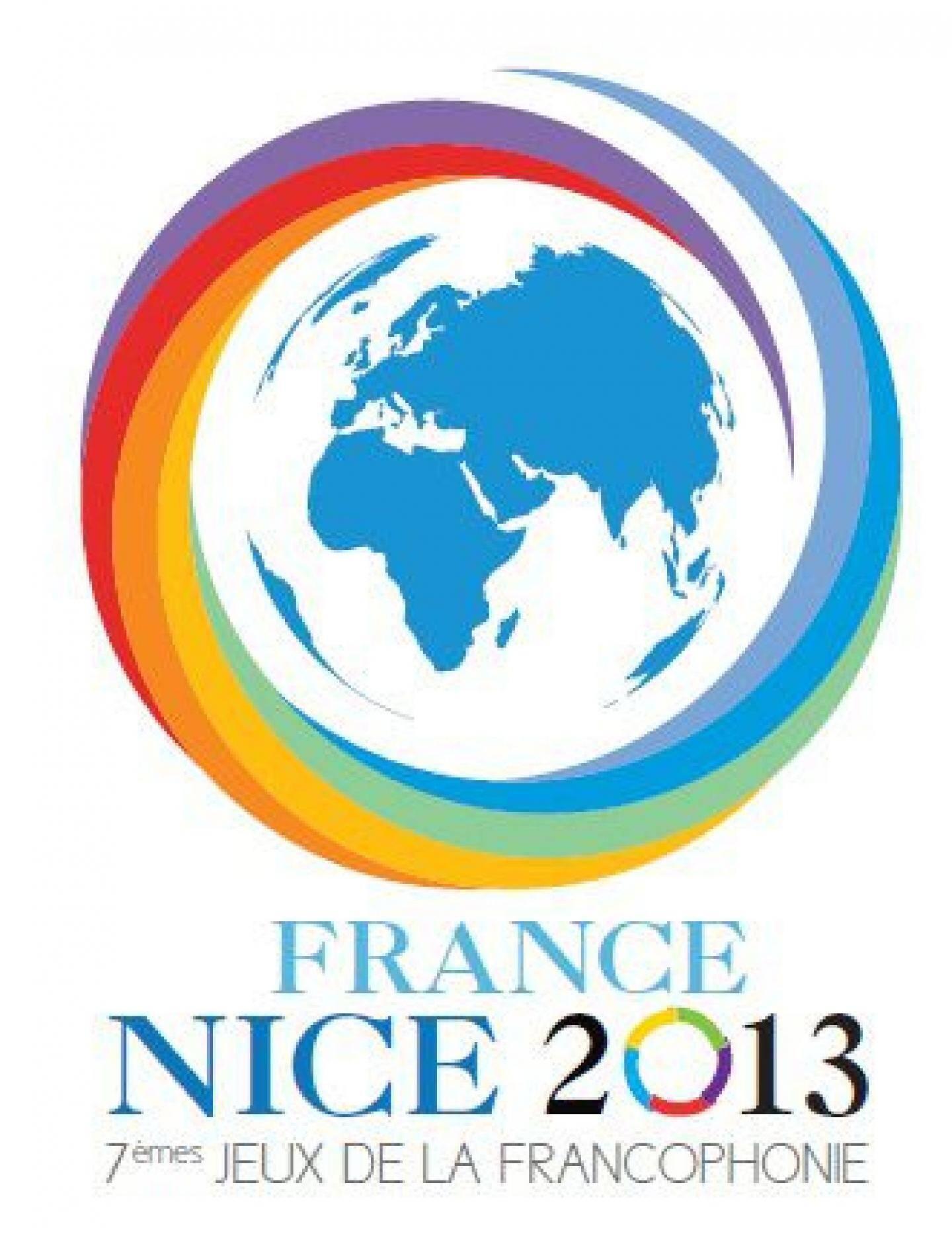 Le logo des Jeux de la Francophonie.