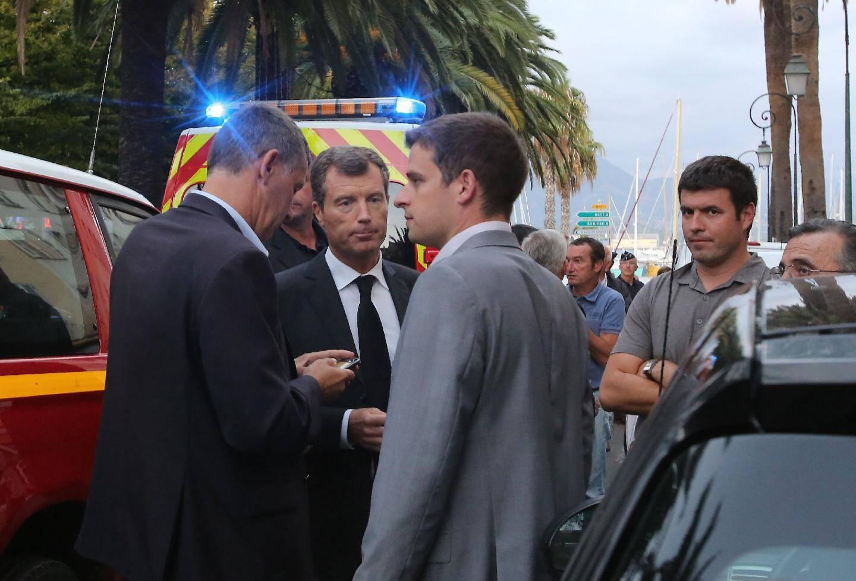 Le préfet Mirmand s'est déplacé sur les lieux. C'est la première fusillade depuis son arrivée en Corse.