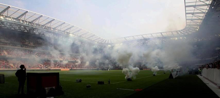 Les Niçois ont pris possession de leur Allianz Riviera dimanche.