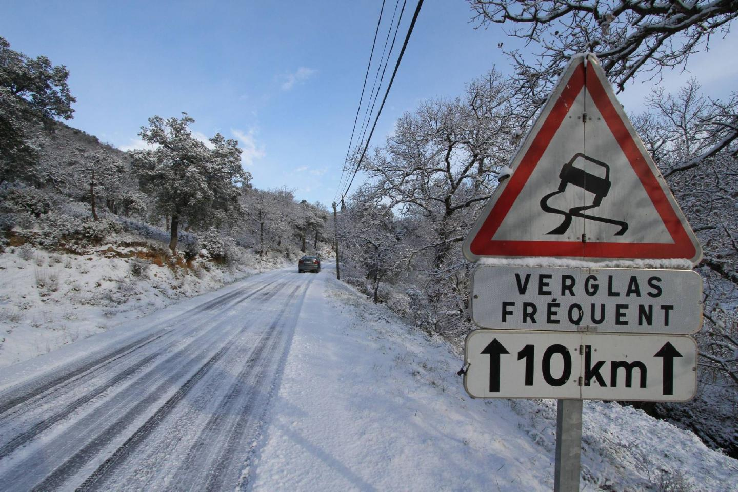 Photo d'illustration de chutes de neige dans le Var