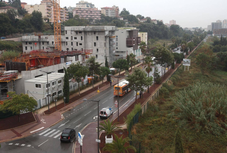 Le boulevard Simone Veil, à Nice-Ouest, a été inauguré ce lundi.