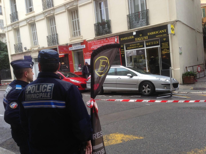 Bijouterie Falusi braquée à Nice