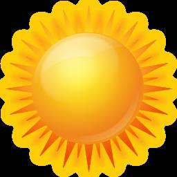 Le soleil fait grimper les températures et dissipe les quelques nuages restant.