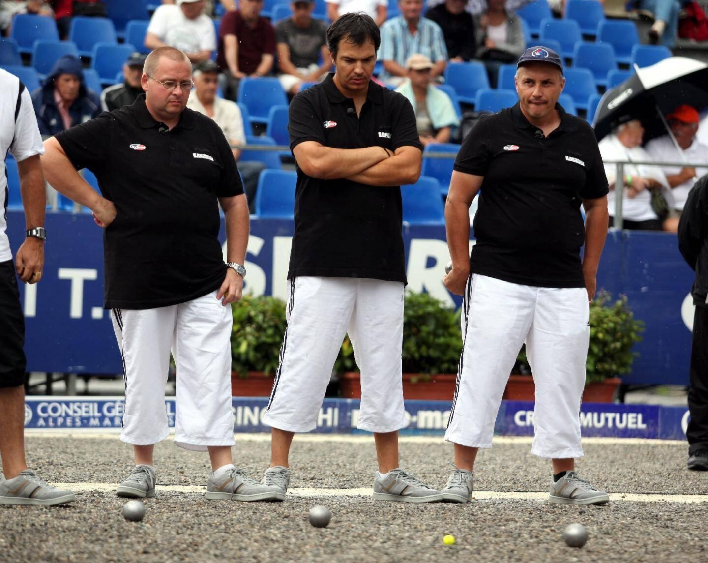 Stéphane Dath, François Muraccioli et Stéphane Mangiantini stoppés en demie.