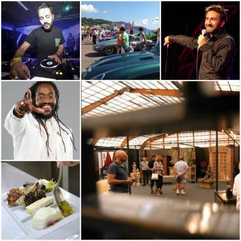 Sumotronik à Toulon Prom'du Cœur à Nice, Mathieu Madénian à Hyères, Tarrus Riley à Nice, Journées Gastronomique à Eze,  Salon de l'Habitat à Draguignan etc...