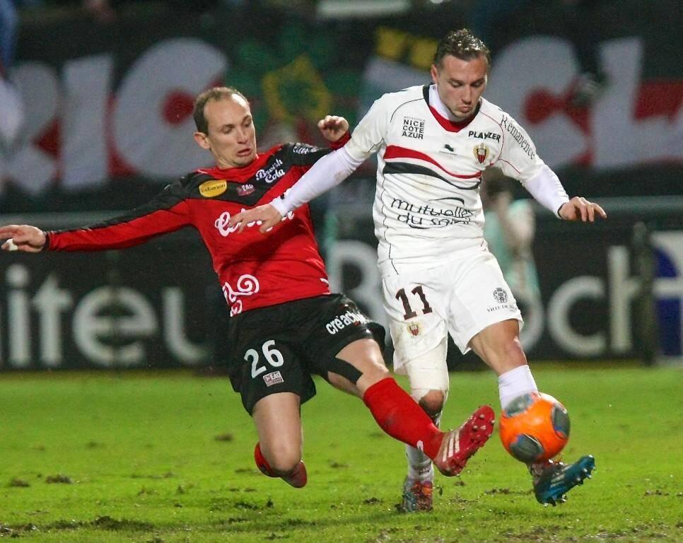 Eric Bauthéac et l'OGC Nice s'étaient inclinés 1-0 à Guingamp la saison dernière.