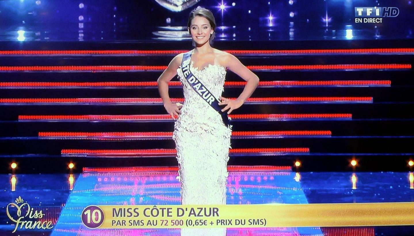 Charlotte Pirroni, miss côte d'Azur