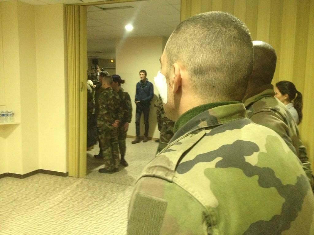 Les militaires blessés à la caserne Auvare à Nice