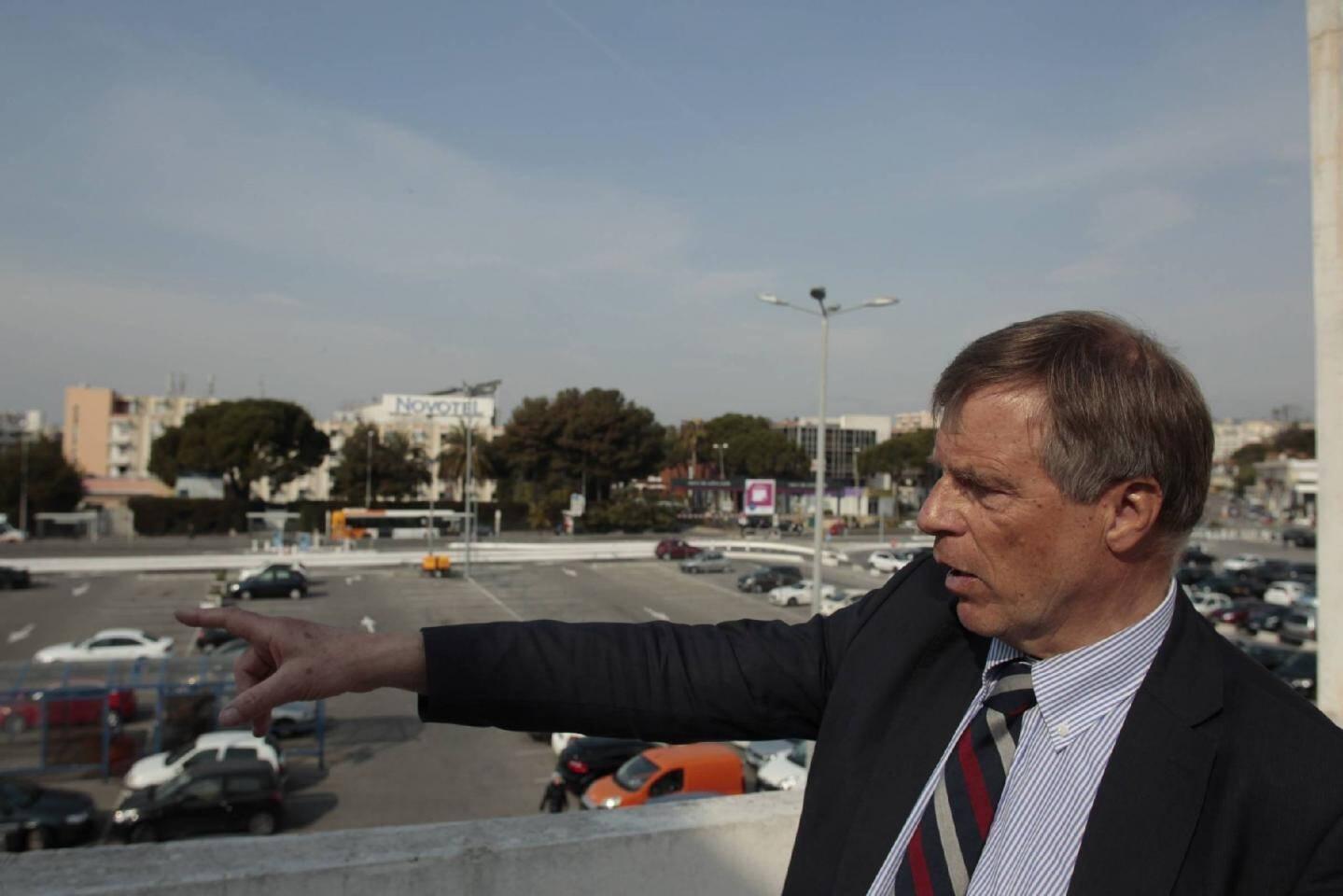 À terme, le parking de Cap 3 000 comptera quelque 4 500 places contre 3 000 avant les travaux et environ 2 300 aujourd'hui.