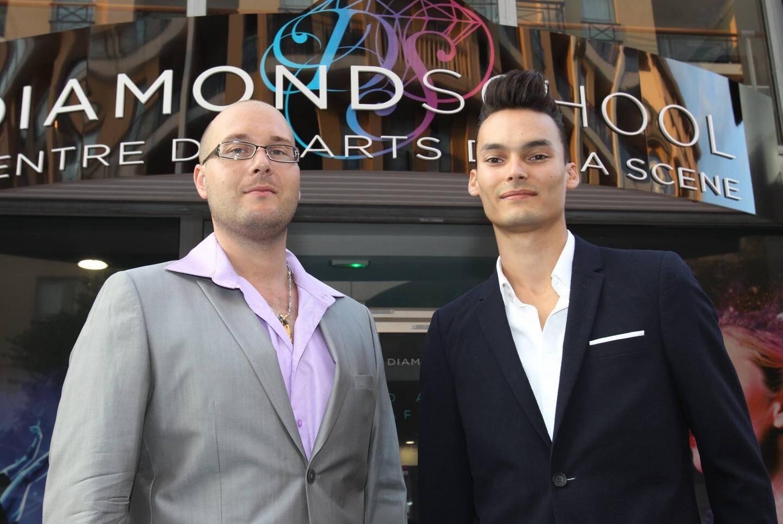 Michaël Besigot et Benoît Tardieu, fondateurs de la Diamond School. (
