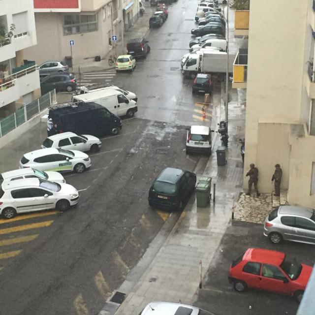 Des policiers du RAID en intervention à Nice