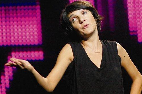 L'humoriste Florence Foresti.