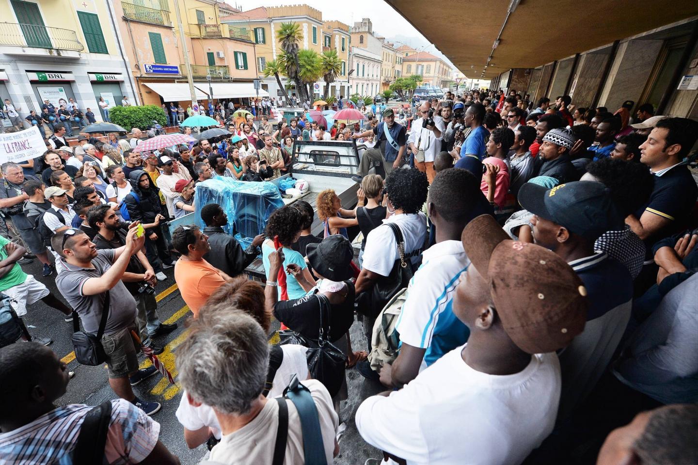 Manifestation migrants