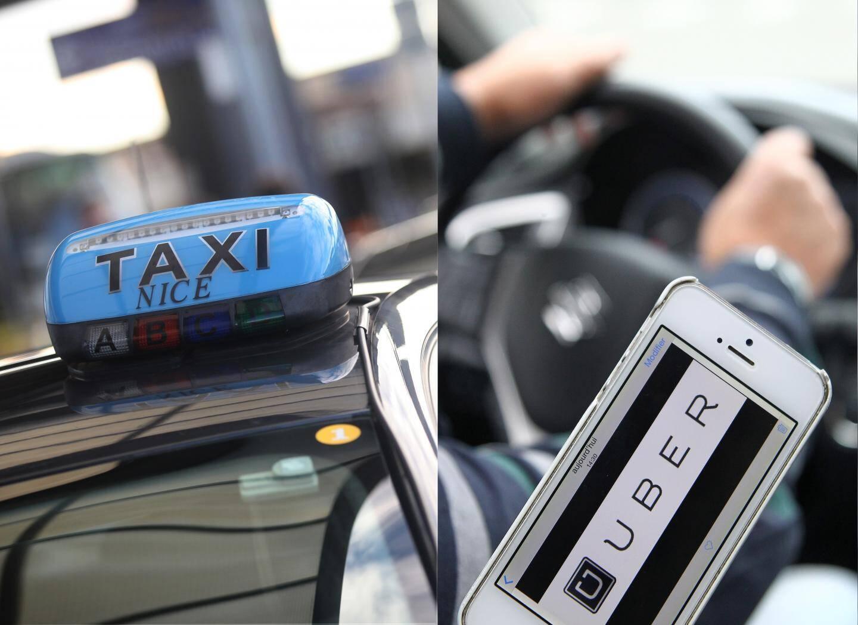 Guerre des prix entre taxis et chauffeurs géolocalisés sur l'application Uber.