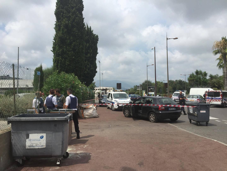 Une fusillade a fait deux blessés devant le commissariat de Saint-Laurent-du-Var jeudi en début d'après-midi